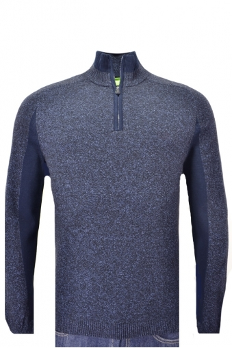 Hugo Boss Zann Half Zip Knitwear