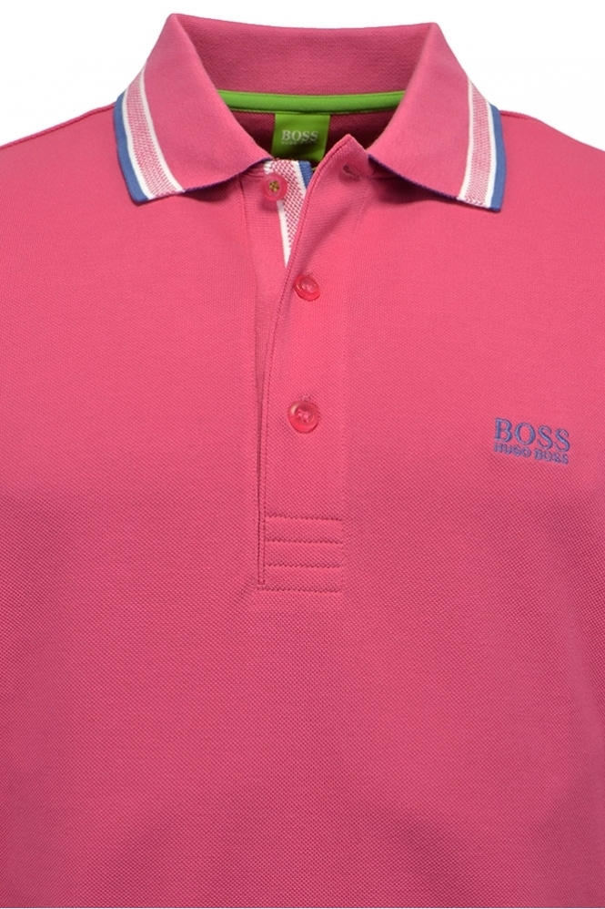 Burgundy Hugo Boss Polo