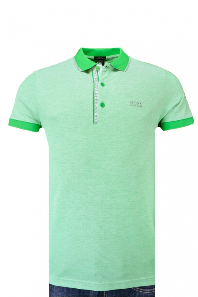 ceb403bf0 Hugo Boss Green Paule 4 Polo Shirt Mint Green - Clothing from ...