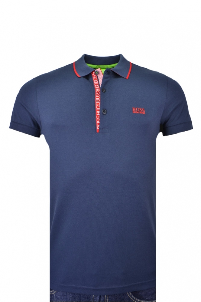 Hugo Boss Green Paule 4 Polo Shirt