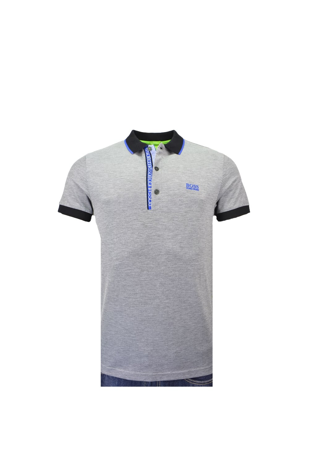 df9a0819 Hugo Boss Green Paule 4 Polo Shirt Slim Fit - Clothing from Michael ...