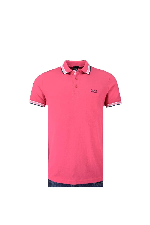 734ff95eb Hugo Boss Green Regular Fit Paddy Polo Shirt Fuchsia - Clothing from ...