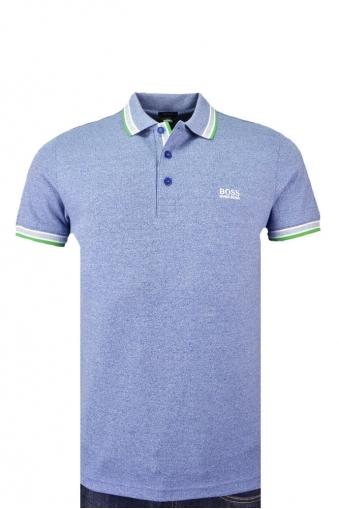 Hugo Boss Green Regular Fit Paddy Polo Shirt Light