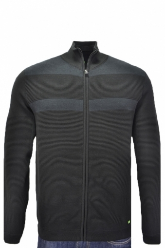 Hugo Boss Green Regular Fit Zile Full Zip