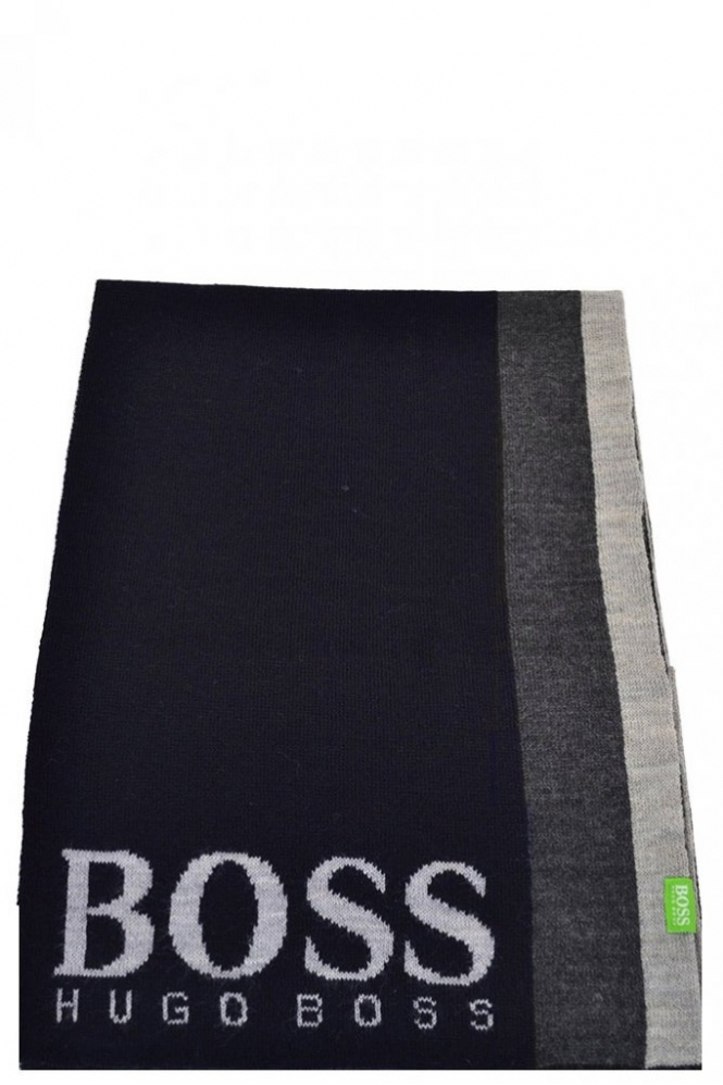 Hugo Boss Green Scarf