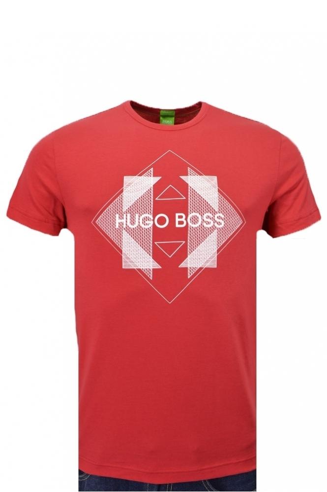c677d70b Hugo Boss Green Tee 2 T Shirt - Clothing from Michael Stewart ...