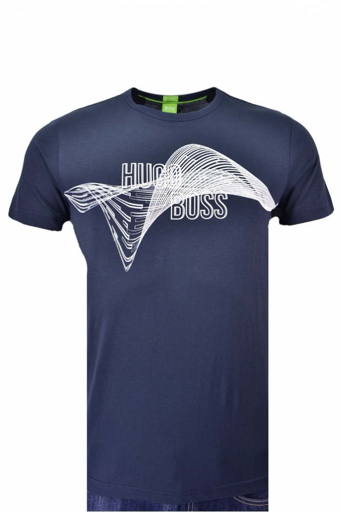 7462572edc Hugo Boss Green Tee 2 T-shirt - Clothing from Michael Stewart ...