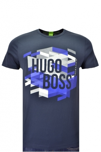 Hugo Boss Green Teeos T-shirt
