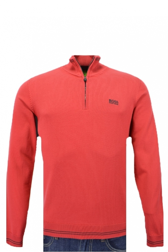 Hugo Boss Green Zime Half Zip