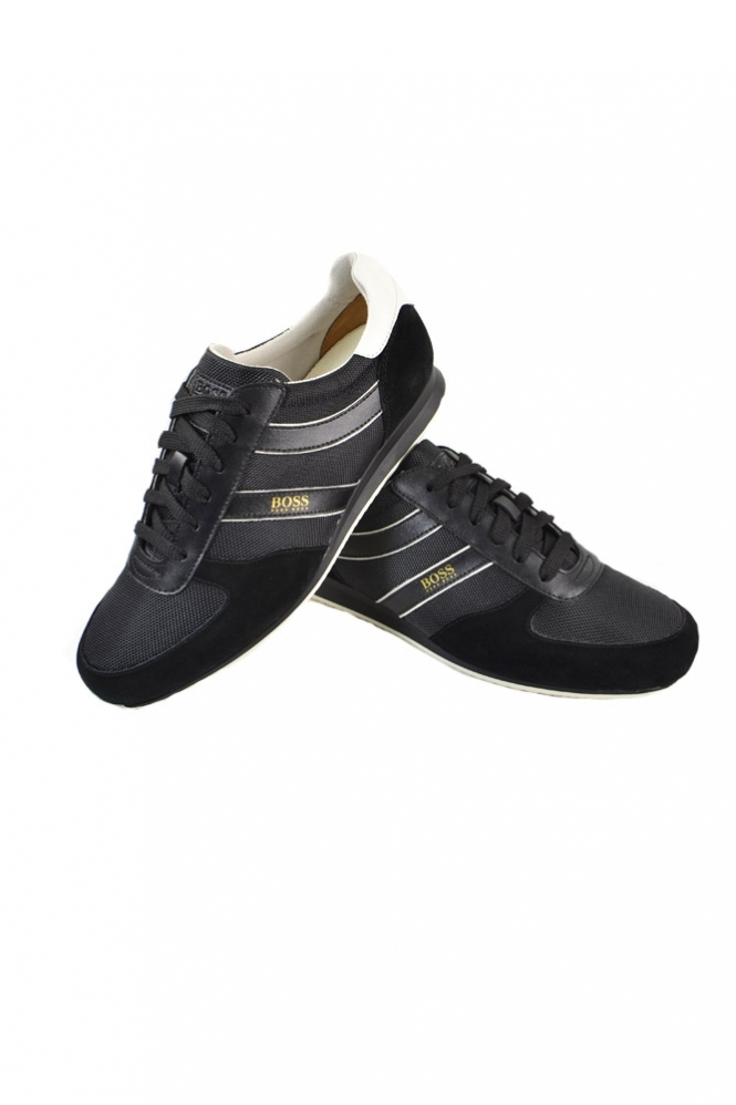 Hugo Boss Orange Orland Lowp Ny 1 Trainers Black