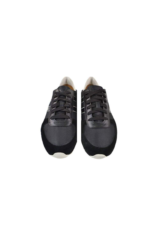 63bf9b4ff90 Hugo Boss Orange Orland Lowp Ny 1 Trainers Black - Footwear from ...