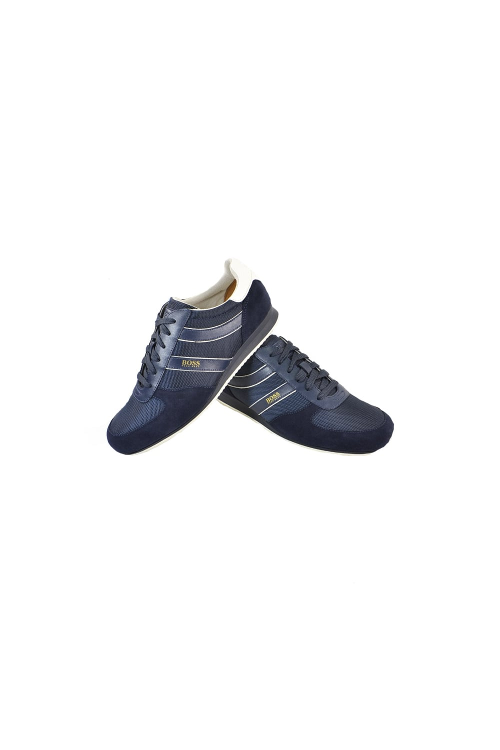0a65d80cf92 Hugo Boss Orange Orland Lowp Ny 1 Trainers Dark Blue - Footwear from ...