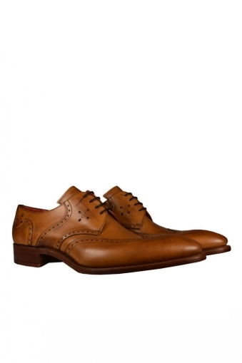 812b1cef Jefferey West Wing Gibson Shoe Made In England Cedar Calf