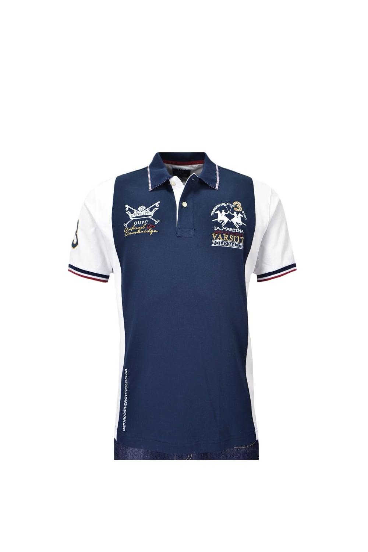 ea8602c7e6 La Martina Short Sleeve Piquet Stretch Polo Shirt - Clothing from ...