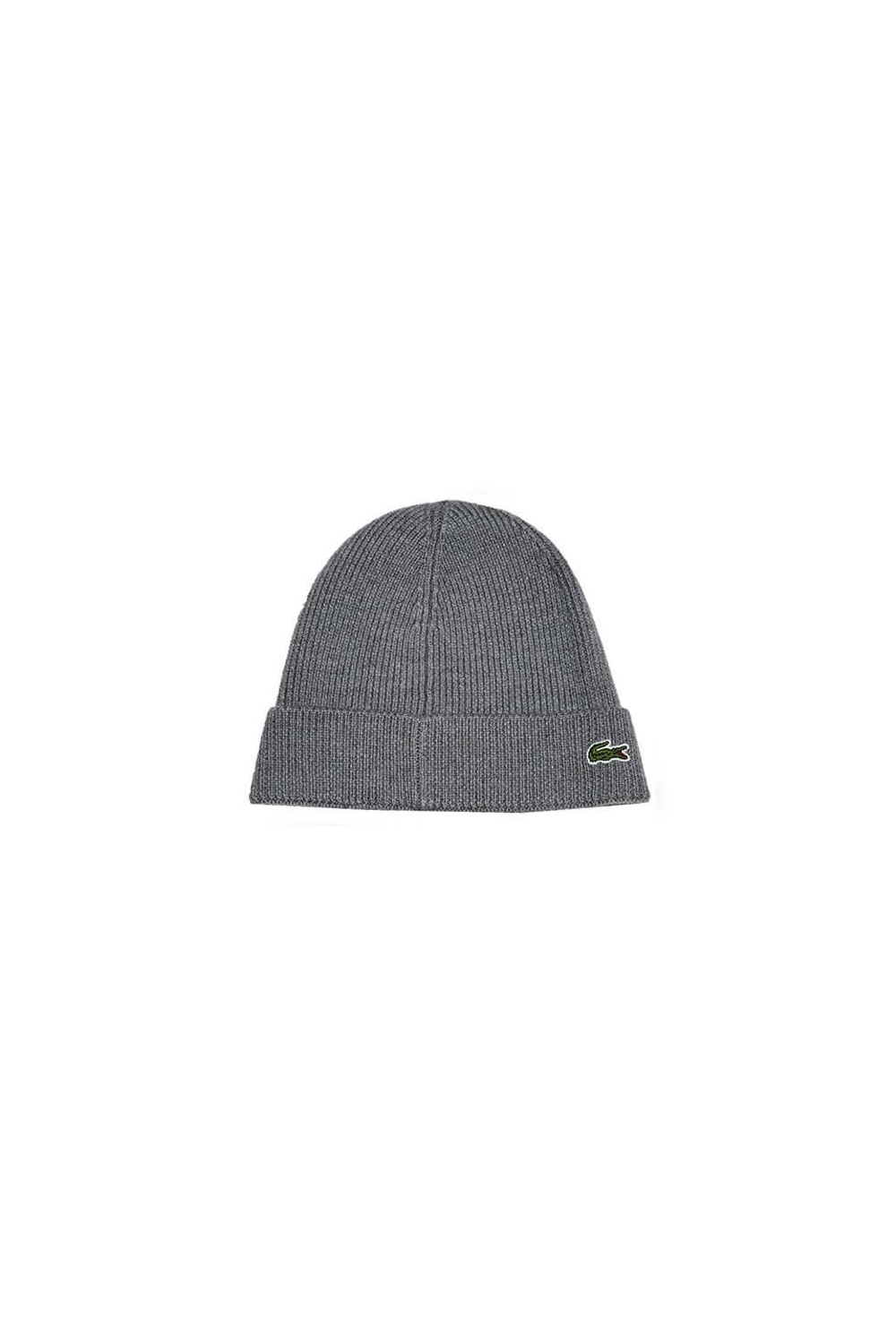 de7d425c89a Lacoste Beanie Hat in Grey RB3502 00 UWC