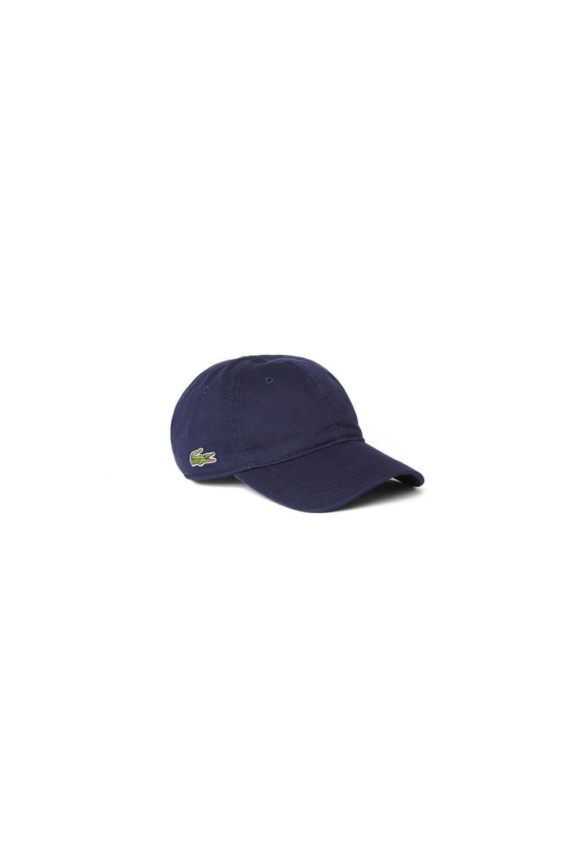 26f0fda895213 Lacoste Gabardine Cap in Navy RK9811-00 166