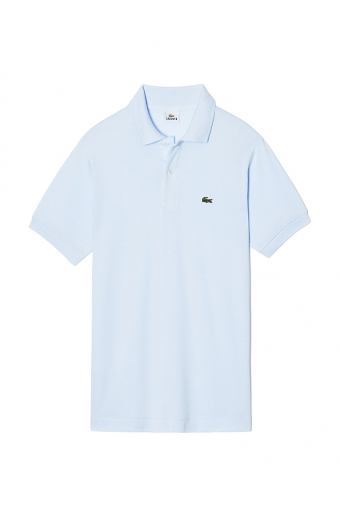 Lacoste Logo Pique Classic Fit Polo Shirt Sky Blue