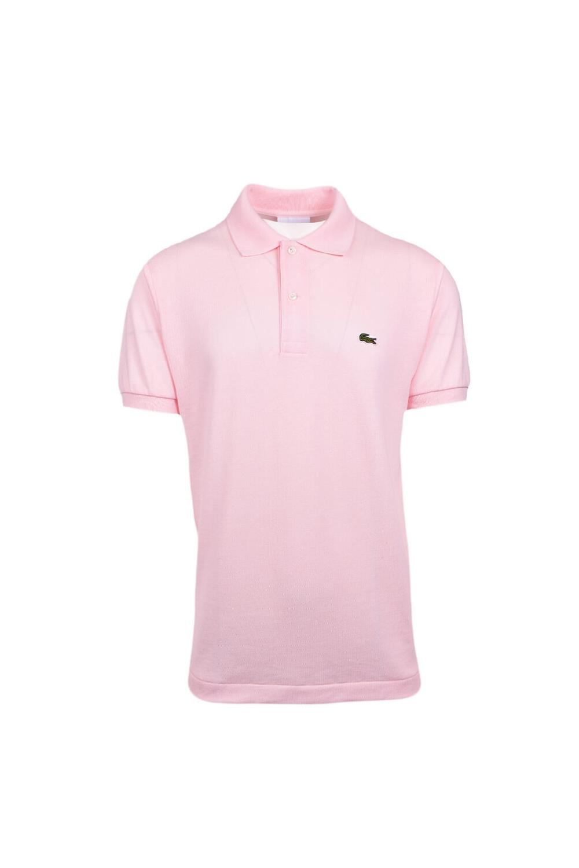 ba12ce00 Lacoste Basic Logo Pique Regular Fit Polo Shirt Pale Pink Size: SIZE 3
