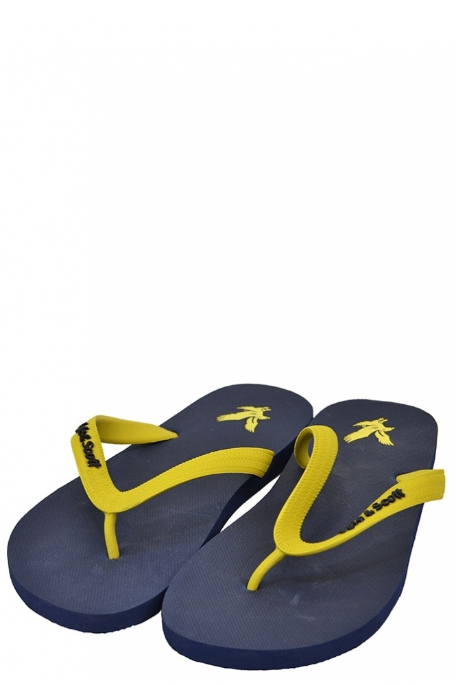 88c71b5c2252cf Lyle   Scott Vintage Lyle   Scott Brora Flip Flop - Footwear from Michael  Stewart Menswear UK