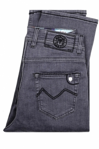 Mancini Norman Grey Denim Jeans