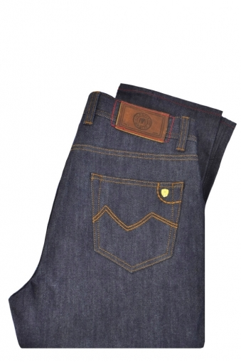 Mancini Vincent Vintage Raw Jeans Dark Denim