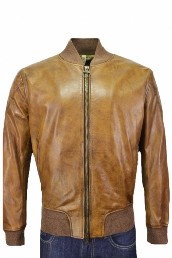 Matchless Inverness Bomber Jacket Antique Cuero