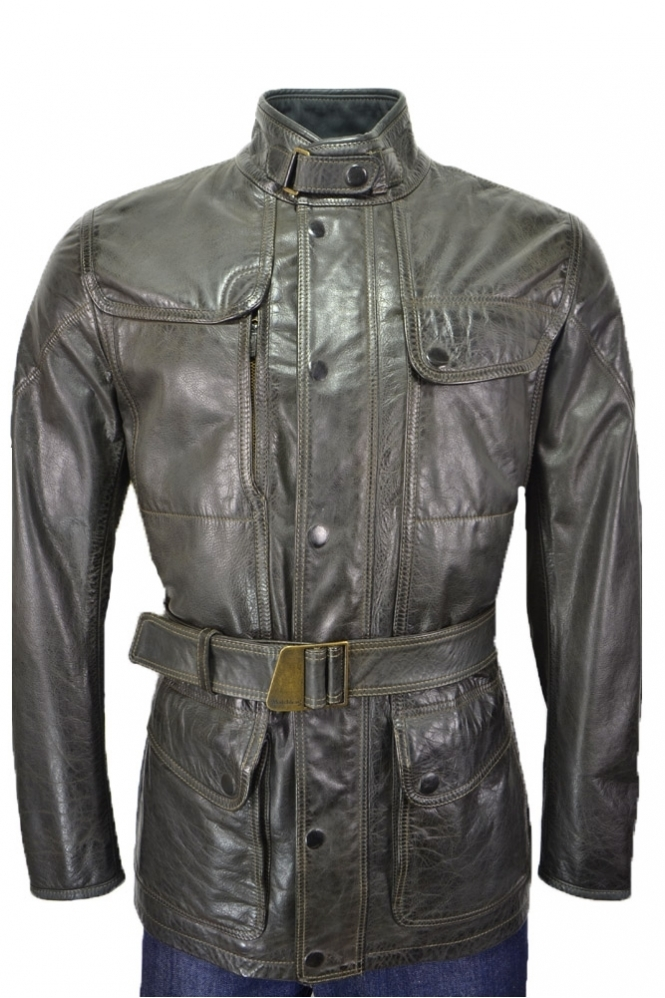 Matchless Jackets Matchless Kensington Leather Coat