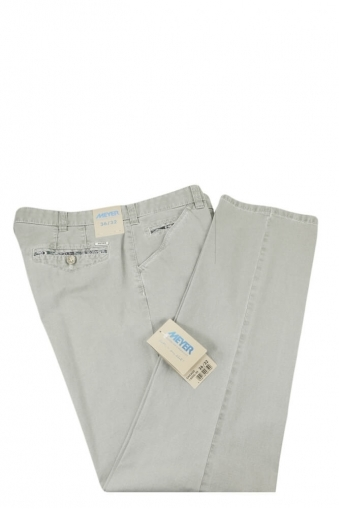 Meyer Chicago Cotton Trouser Grey