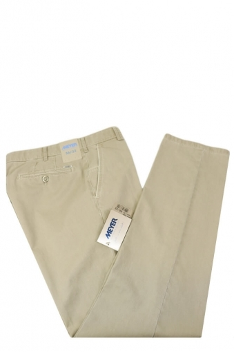 Meyer New York Casual Trouser Stone