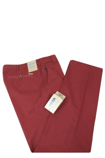Meyer Roma Cotton Trouser Red