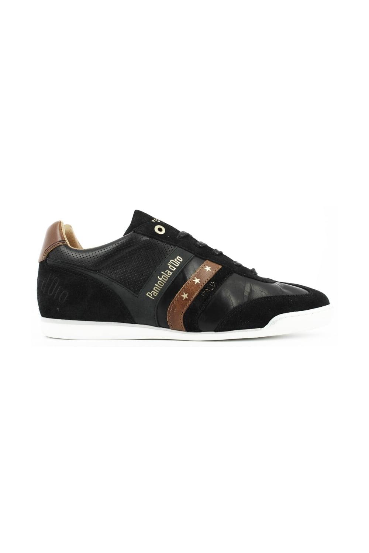 98c8274b Pantofola D'oro Pantofola D'Oro Vasto Uomo Low Black Trainers ...