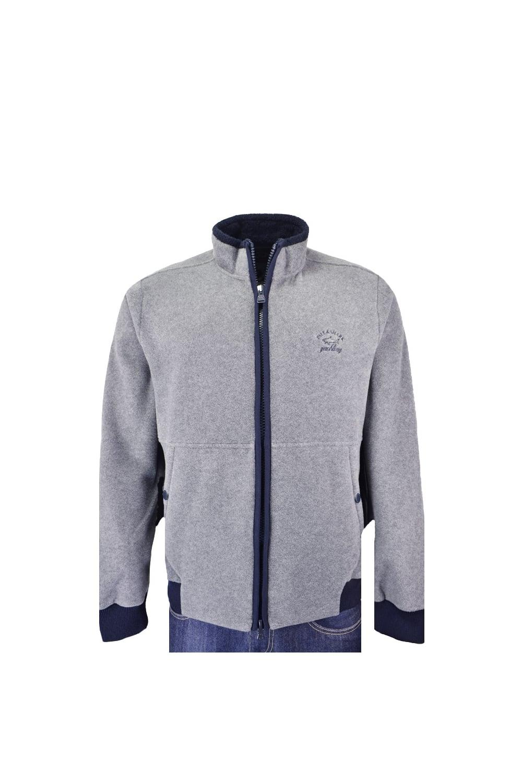 paul shark paul and shark fleece jacket grey clothing. Black Bedroom Furniture Sets. Home Design Ideas