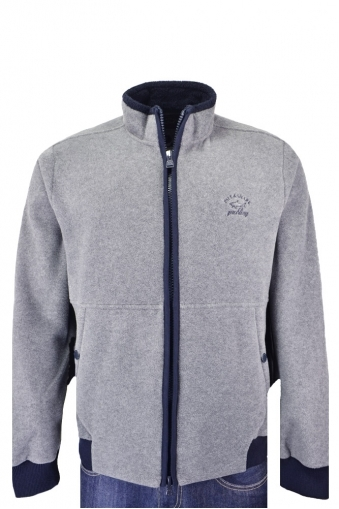 Paul And Shark Fleece Jacket Grey