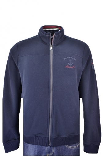 Paul And Shark Fleece Jacket Navy