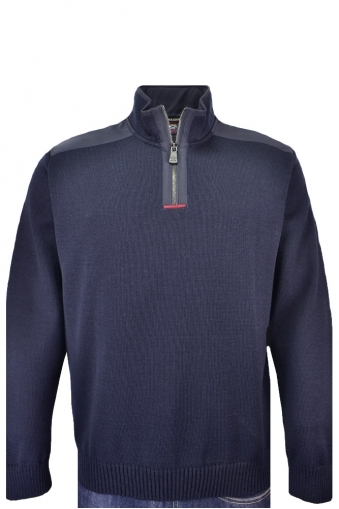 Paul And Shark Half Zip Knitwear Navy