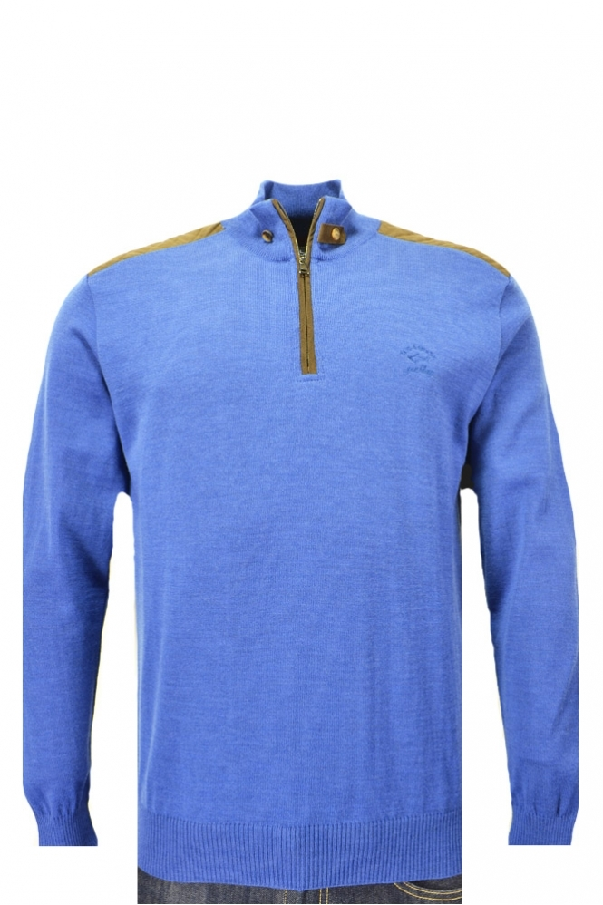 Paul & Shark Paul And Shark Half Zip Knitwear