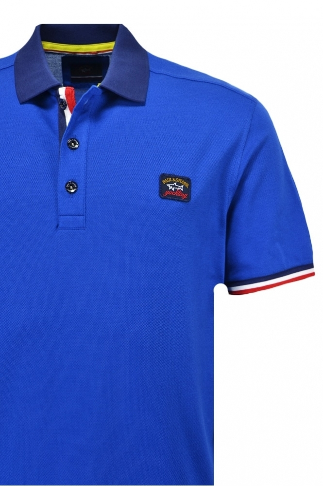 Paul   Shark Paul And Shark Large Fit Polo Shirt - Clothing from ... 04f3e7d7d26f