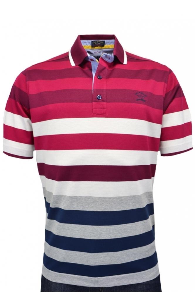 b4aea88a Paul & Shark Paul And Shark Polo Shirt Multi Stripe - Clothing from ...