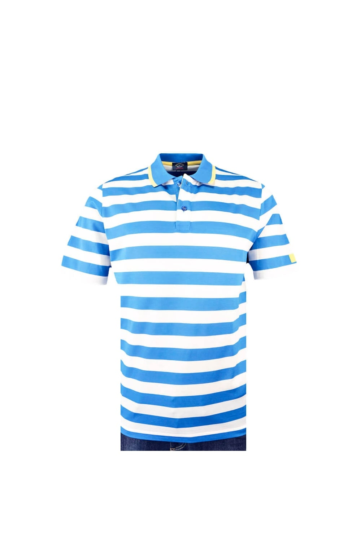 c1a9a20e8e Paul & Shark Paul And Shark Regular Fit Polo Shirt Blue/White Stripe ...