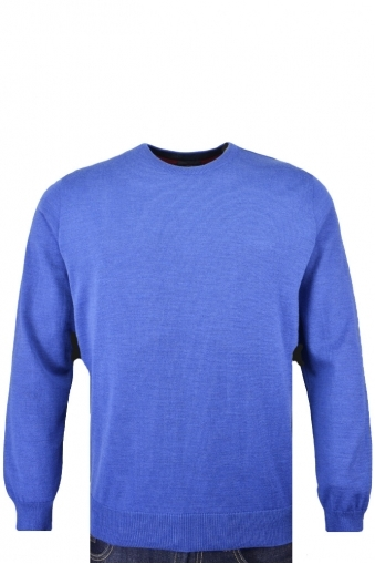 Paul And Shark Virgin Wool Crew Neck Jumper