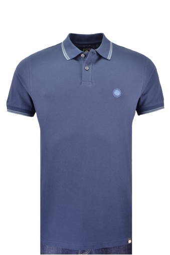 Pretty Green Barton Polo Shirt Navy