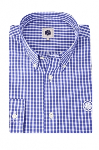 Pretty Green Ebsworth Gingham Check Shirt
