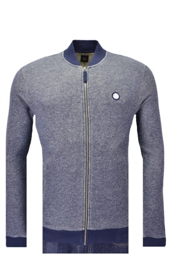 Pretty Green Hemsworth Full Zip Knitwear