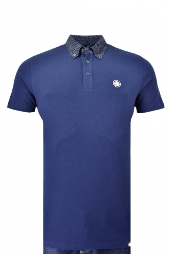 Pretty Green Mayflower Collar Polo Shirt