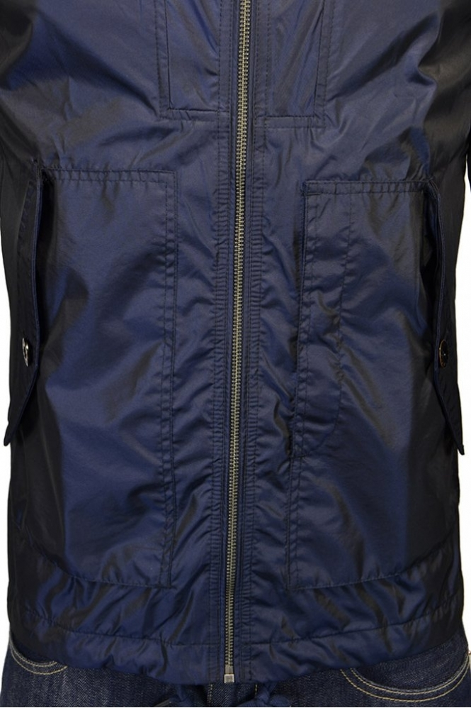9e94d71f5c0aba Pretty Green Danbury Hooded Jacket Navy - Clothing from Michael ...