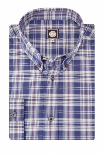 Pretty Green Tarran Check Shirt
