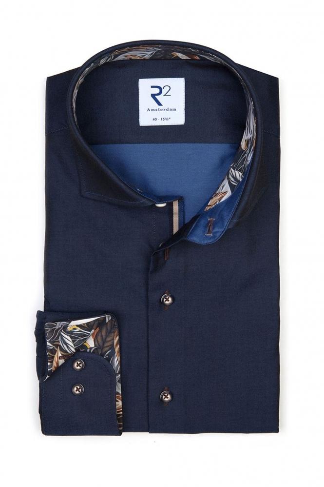 R2 Long Sleeved Shirt Navy 110.WSP.004