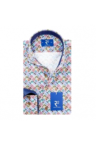 R2 Long Sleeve Shirt Multi Patterned