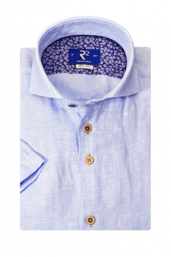 R2 Westbrook Short Sleeve Linen Shirt