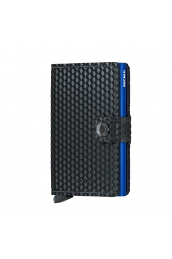 Secrid Mini Wallets Black/blue